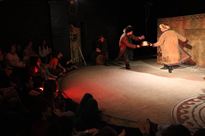 Спектакль Плаха (Чингиз Айтматов) - театр Дилижанс (Тольятти)